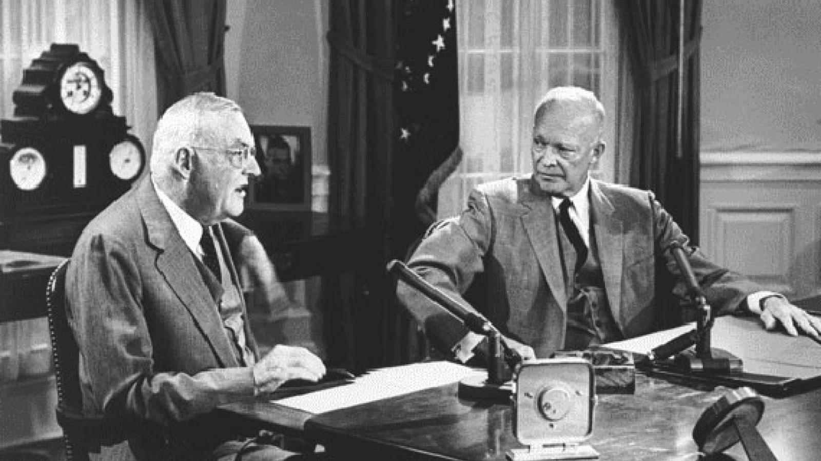 Dulles y Eisenhower